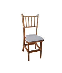 Cadeira Lotus (c/ assento branco) 0,40 x 0,40 x 0,98m (CxLxH)