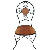Cadeira Iron Garden 0,40 x 0,37 x 0,94 (CxLxH)