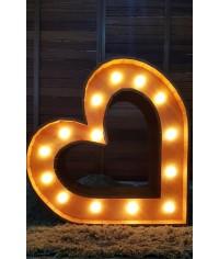 Coração Luminoso 0,95 x 0,97 (LxH)