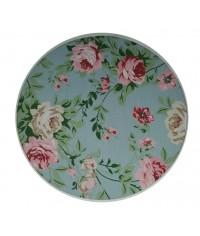Sousplat Flower Tiffany Ø 0,35 x 0,03 (DxH)