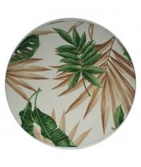 Sousplat Leaf Ø 0,35 x 0,03 (DxH)